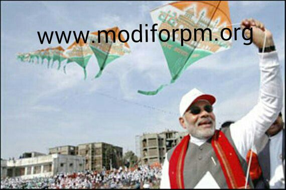 Kite Festival Gujarat - next indian prime minister